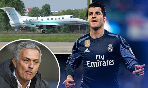 Chuyên cơ chở Morata đáp xuống Manchester? - Bóng Đá