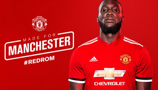Romelu Lukaku CHÍNH THỨC gia nhập Man United - Bóng Đá