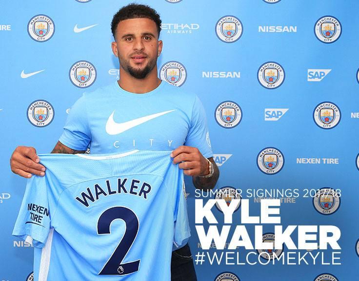 CHÍNH THỨC: Kyle Walker gia nhập Man City - Bóng Đá