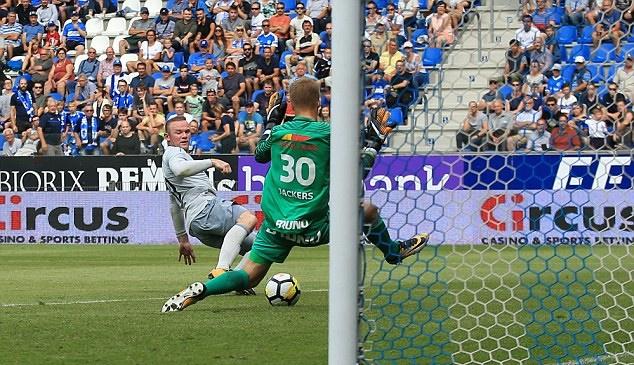 Rooney ghi bàn, Everton vẫn đứt mạch thắng trên đất Bỉ - Bóng Đá
