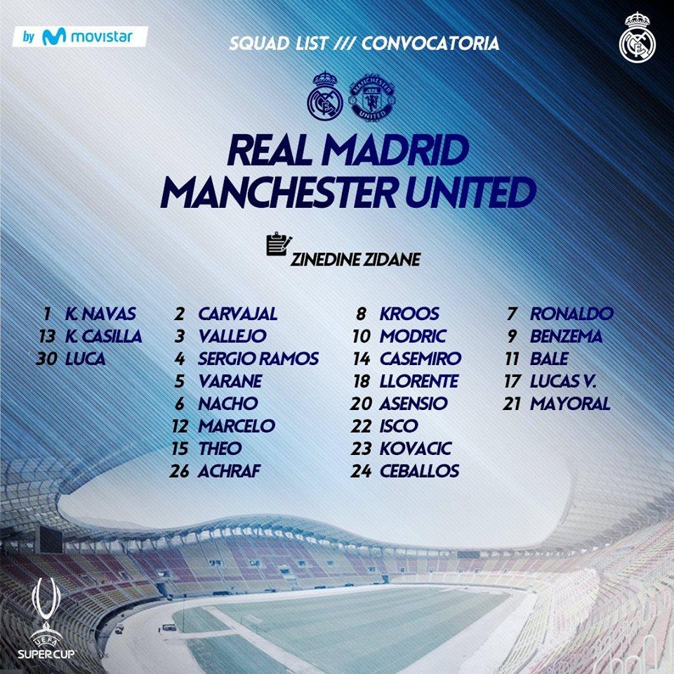 NÓNG: Real mang siêu đội hình đấu M.U, có cả Ronaldo - Bóng Đá