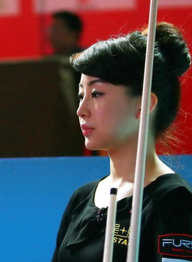Pan Xiaoting - Nữ hoàng bi-a châu Á xinh đẹp - Bóng Đá