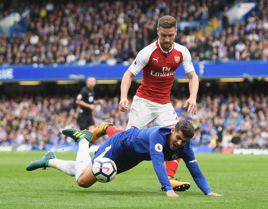 Chấm điểm Chelsea trận Arsenal: Thất vọng Luiz - Bóng Đá