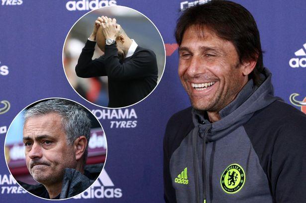 HLV Conte tuyên chiến Man Utd, Man City – Arsenal Info