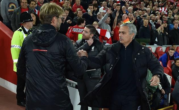 Trước đại chiến Liverpool - M.U: Klopp là khắc tinh của Mourinho - Bóng Đá