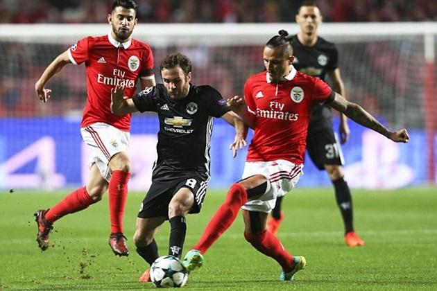 Benfica 0-1 Man United: Cách biệt tối thiểu
