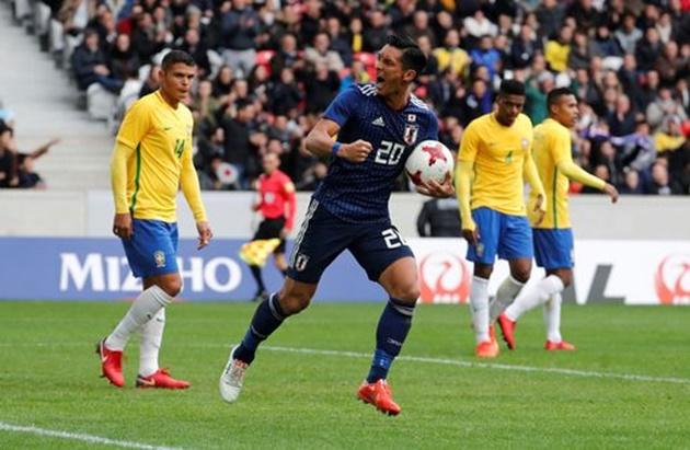 Neymar hỏng penalty, Brazil vẫn thắng hủy diệt Nhật Bản - Bóng Đá