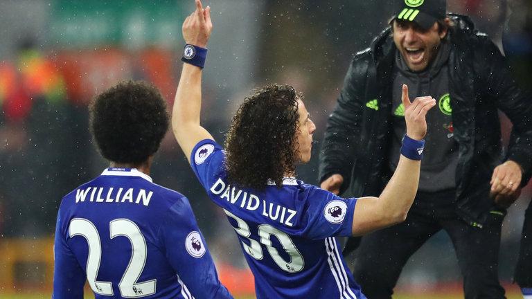 Xong mâu thuẫn giữa Luiz và Conte - Bóng Đá