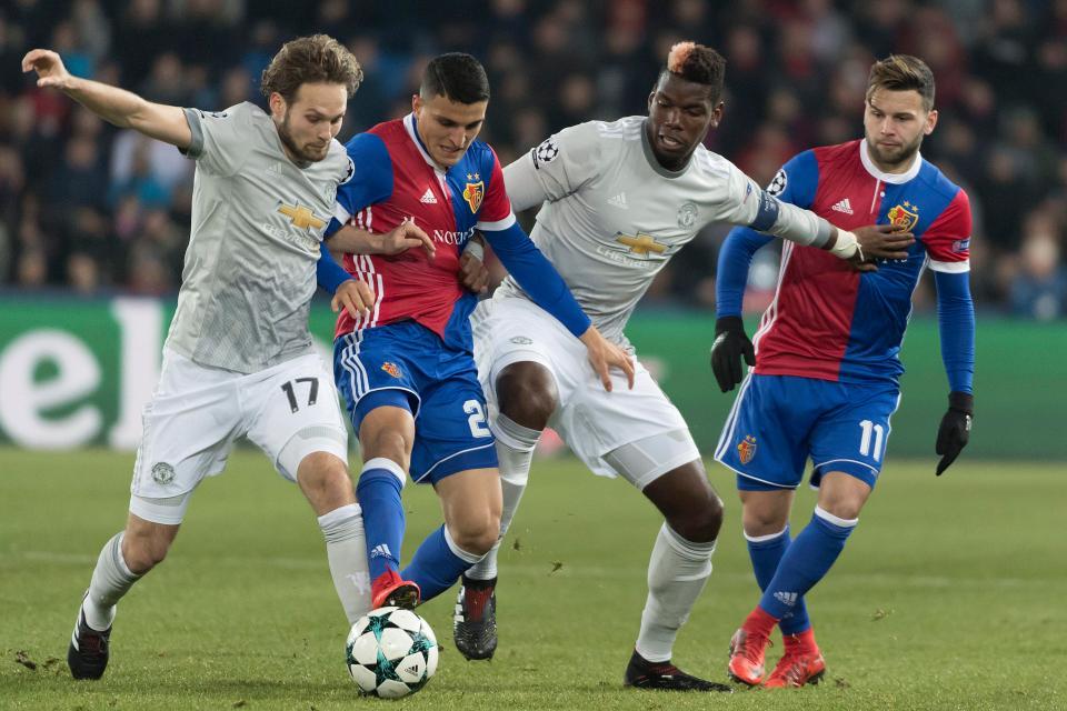 Thua Basel, Man Utd vẫn dư sức vô địch Champions League - Bóng Đá