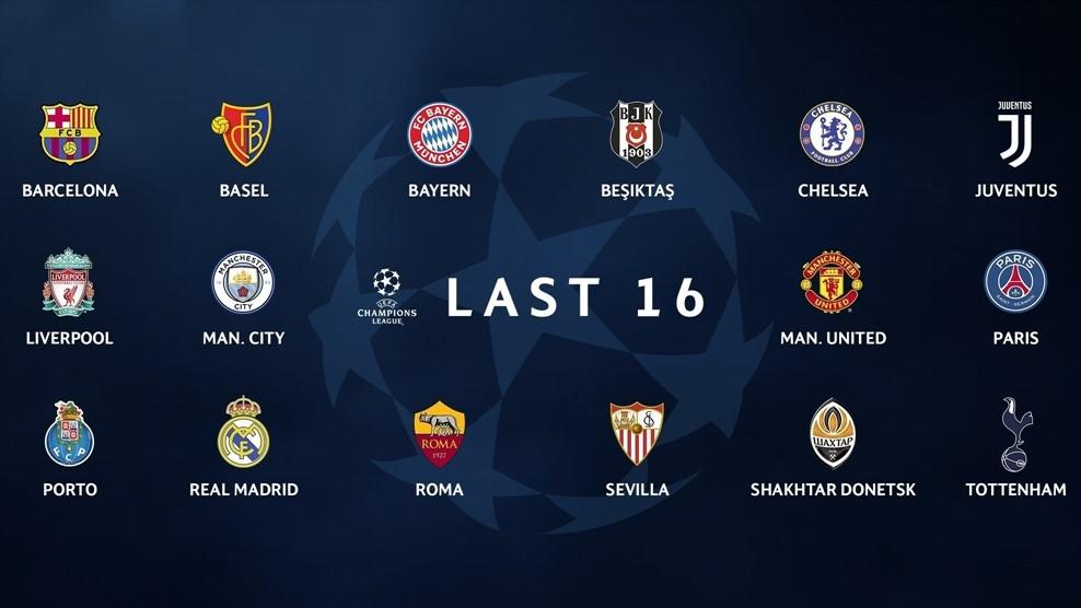 TRỰC TIẾP bốc thăm vòng 16 đội Champions League: Long tranh hổ đấu - Bóng Đá