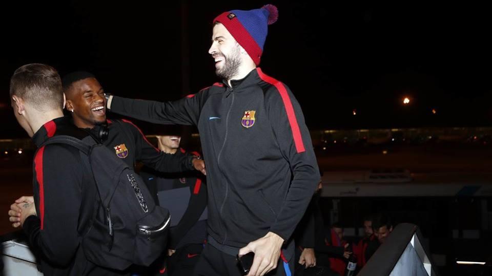 Chùm ảnh: Barcelona hành quân đến Madrid - Bóng Đá