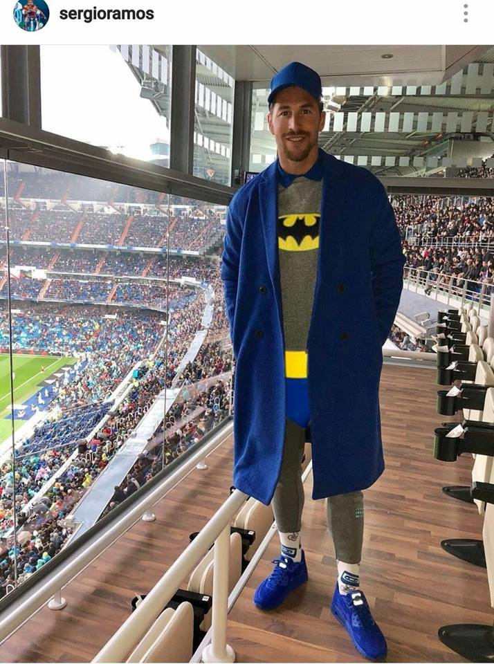 Ramos chọc cười thiên hạ trong ngày Real thua sấp mặt - Bóng Đá