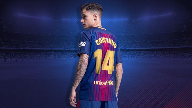 NÓNG: Barca chốt số áo Coutinho, không phải số 7 - Bóng Đá