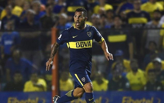 Carlos Tevez chói sáng trong lần thứ 3 ra mắt Boca Juniors - Bóng Đá