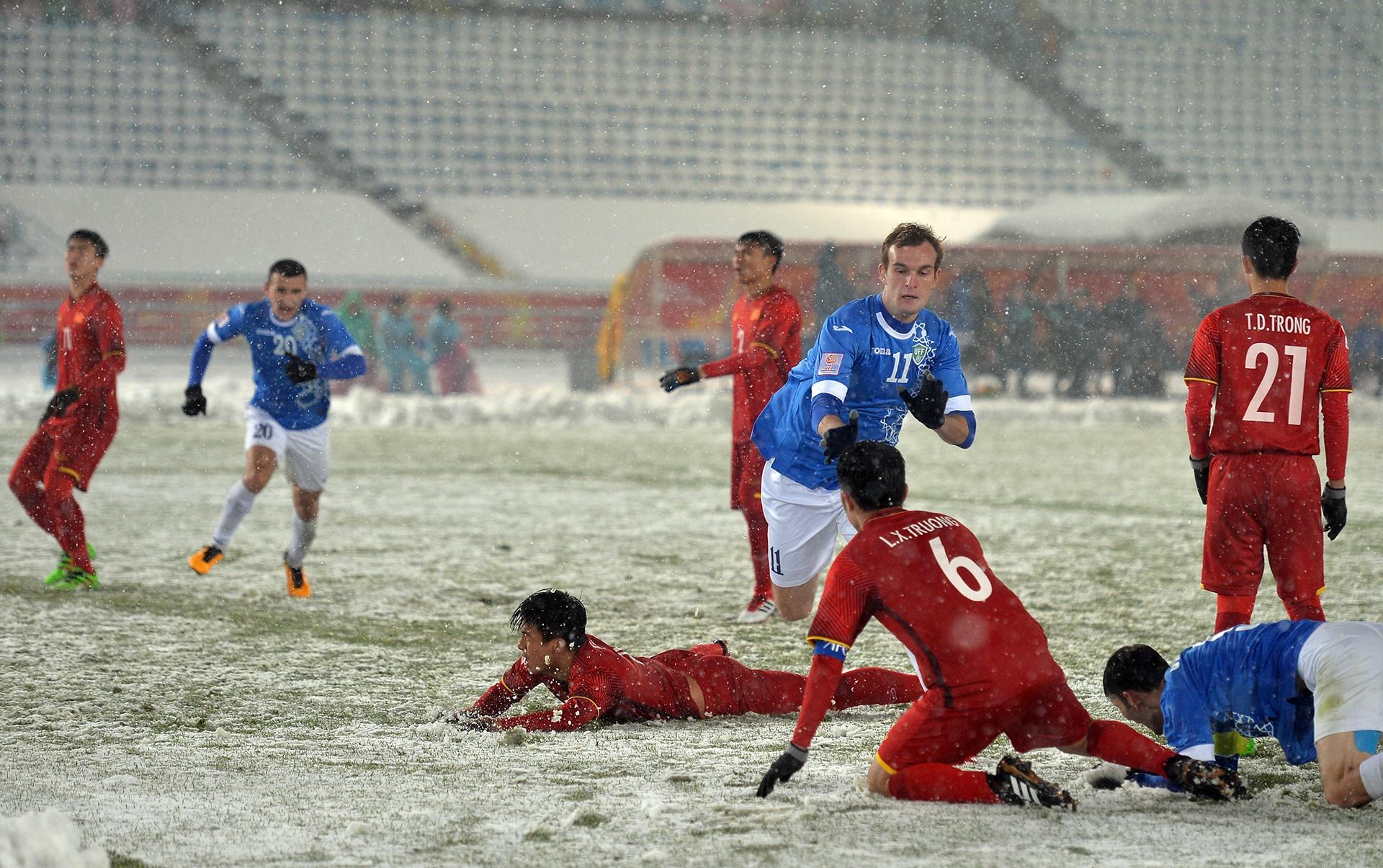 Kỳ tích U23 Việt Nam: Báo Uzbekistan ngả mũ kính phục! - Bóng Đá
