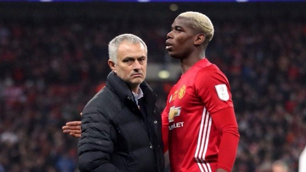 Kết quả hình ảnh cho mourinho pogba