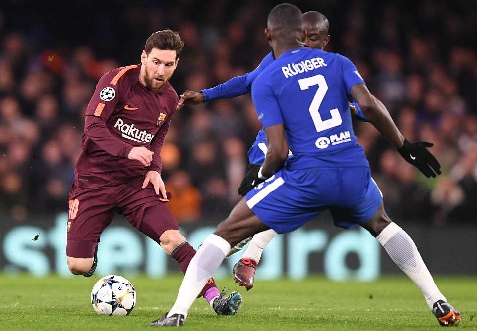 Dư âm Chelsea 1-1 Barcelona: Messi phá dớp, Willian đen đủi! - Bóng Đá