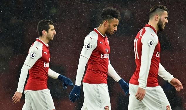 Bầu không khí u ám bao trùm lấy Arsenal - Bóng Đá