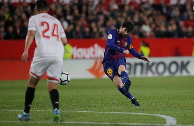 AS Roma không thể cản Messi - Bóng Đá