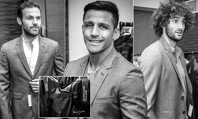 Dàn sao Man Utd diện vest đen lịch lãm trước CK FA Cup - Bóng Đá