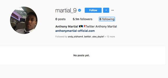 Xóa hết hình ảnh M.U, Martial công khai ra đi - Bóng Đá
