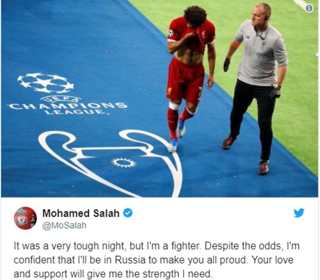 NÓNG: Salah lần đầu lên tiếng, làm rõ chấn thương và cơ hội dự World Cup - Bóng Đá