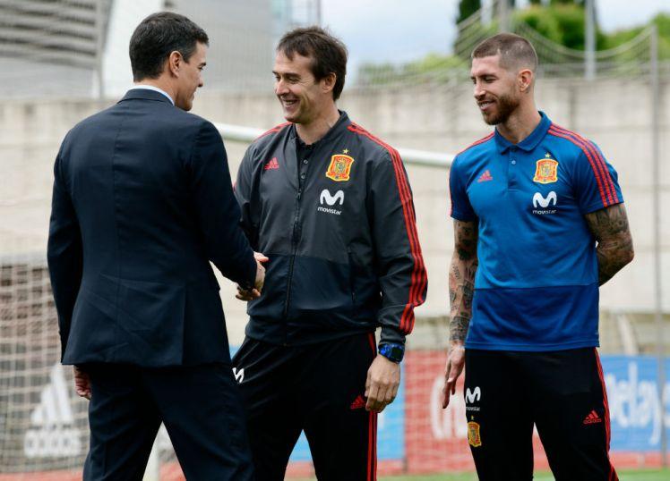 Ramos nói gì khi Lopetegui bị sa thải - Bóng Đá