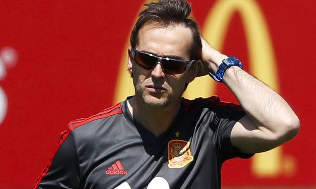 SỐC! Julen Lopetegui bị SA THẢI, 1 ngày sau khi trở thành HLV Real Madrid - Bóng Đá