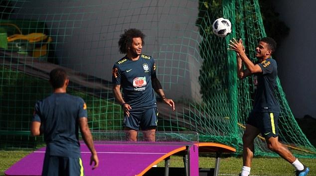 Thể hiện kỹ thuật đỉnh cao trên sân tập, Brazil sẵn sàng bắn hạ Thụy Sĩ - Bóng Đá