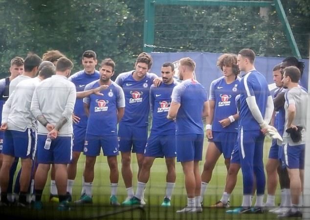 Buổi tập đầu của Chelsea sau khi sa thải Conte - Bóng Đá