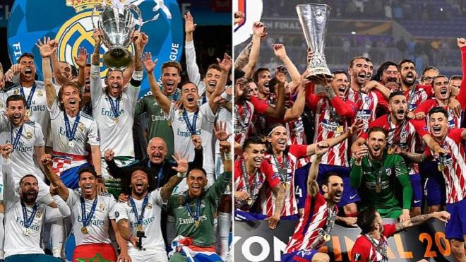 Siêu cúp châu Âu 2018: Real Madrid - Atletico Madrid & Những điều cần biết - Bóng Đá