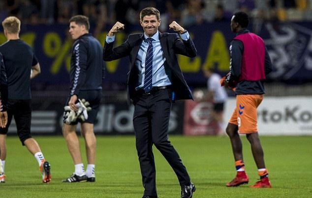 Gerrard giúp Rangers nuôi tiếp hy vọng ở Europa League - Bóng Đá