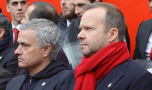 Mourinho dùng 2 từ nói về mối quan hệ với Ed Woodward - Bóng Đá