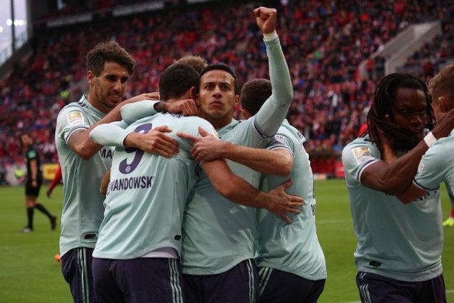 Thắng trận thứ 3 liên tiếp, Bayern Munich khiến Dortmund run sợ - Bóng Đá