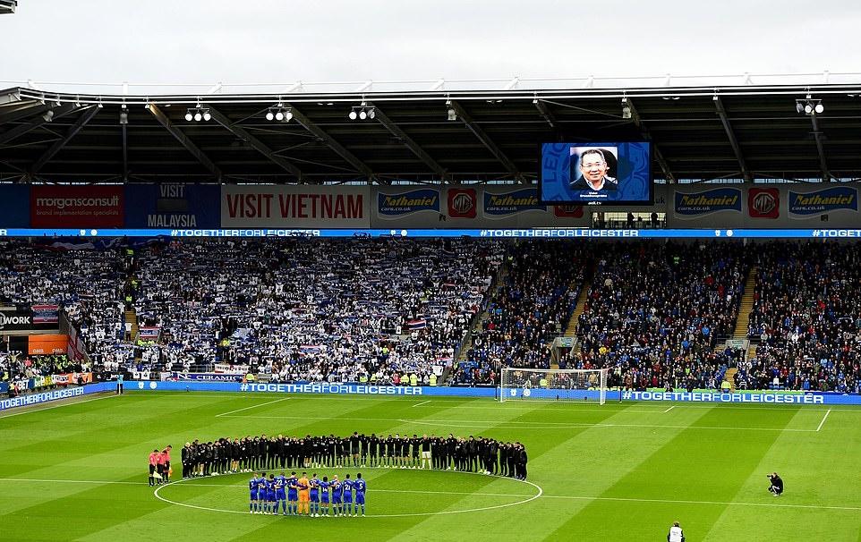 Các cầu thủ Leicester City không ngừng rơi nước mắt trước trận đấu - Bóng Đá