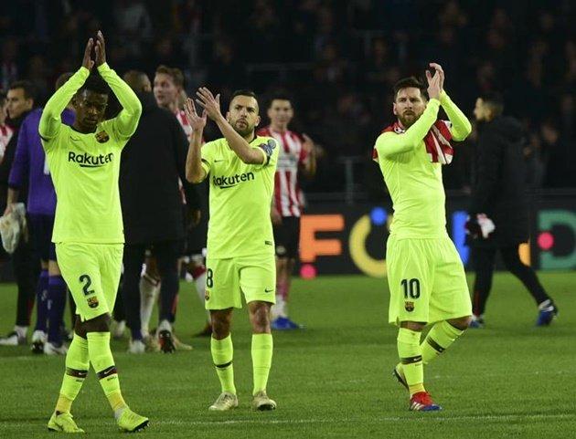 Messi và Barcelona cùng đi vào lịch sử Champions League - Bóng Đá