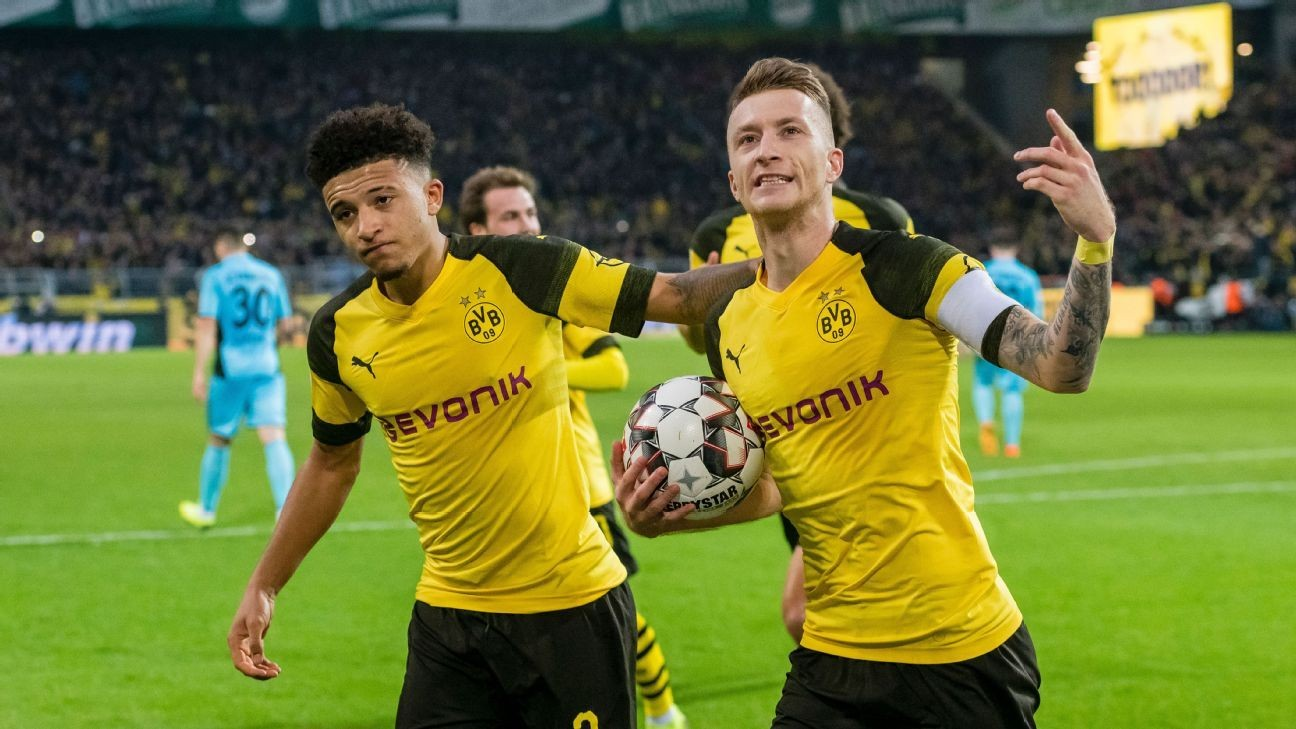 Reus tỏa sáng, Dortmund tiếp tục duy trì khoảng cách 9 điểm với Bayern Munich - Bóng Đá
