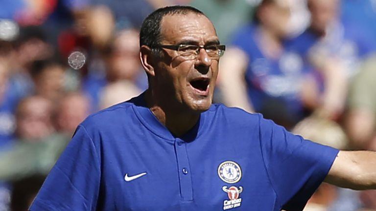 Bại trận, HLV Sarri tuyên bố Chelsea không cùng đẳng cấp với Man City - Bóng Đá