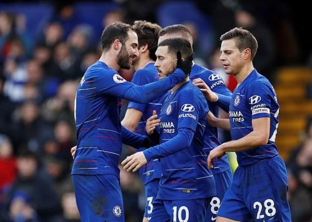 'Mở tài khoản' cho Chelsea, và đây là cách Higuain ăn mừng - Bóng Đá