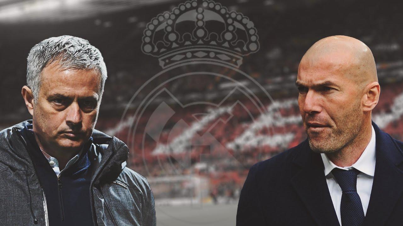 Mourinho lên tiếng về việc Zidane trở lại Real - Bóng Đá