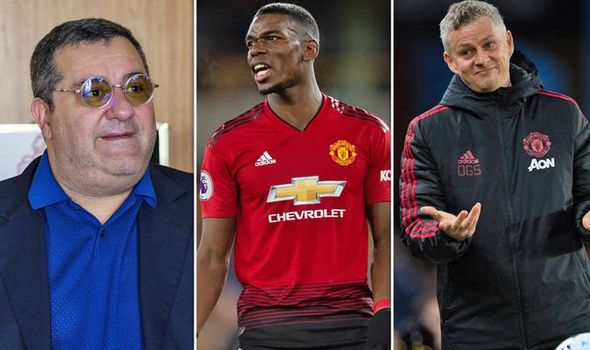 NÓNG! Raiola thinks Solskjaer has made Pogba decision because of two players - Bóng Đá