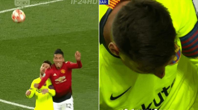 Có một Messi khổ sở như thế ở Old Trafford - Bóng Đá