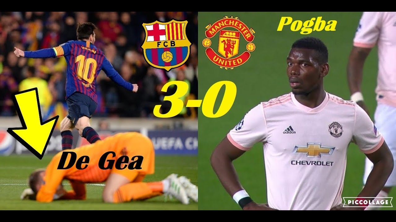 Pogba phản ứng không thể tin nổi khi Messi ghi bàn - Bóng Đá
