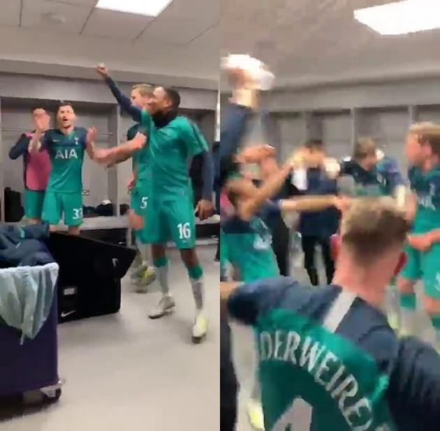 Hạ Man City, Tottenham quậy phá phòng thay đồ Etihad - Bóng Đá