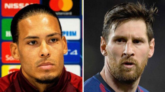 Van Dijk: Tôi không biết làm sao ngăn Messi - Bóng Đá