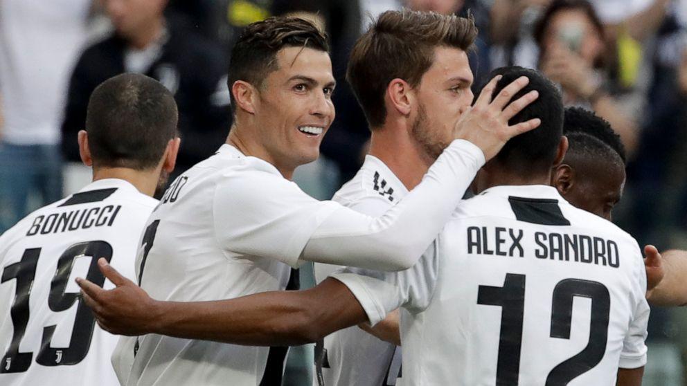 Ronaldo cùng Juventus lập kỷ lục khủng chưa từng có - Bóng Đá
