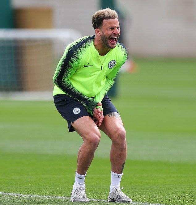 Man City tập luyện - Bóng Đá