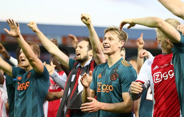 Gạt sầu Tottenham, Ajax hái quả ngọt sau 5 năm - Bóng Đá
