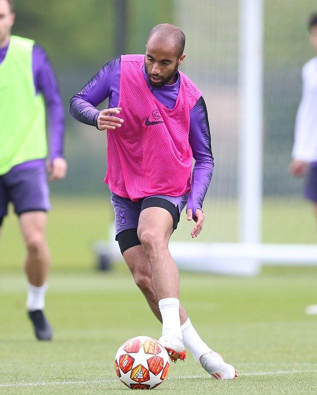 Lucas Moura Surs: Lucas Moura Champions League Tottenham