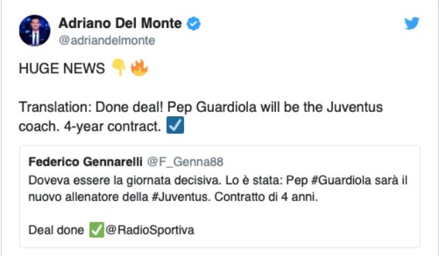 Điên rồ! Rời Man City, Pep Guardiola ký xong hợp đồng 4 năm ở Italia - Bóng Đá